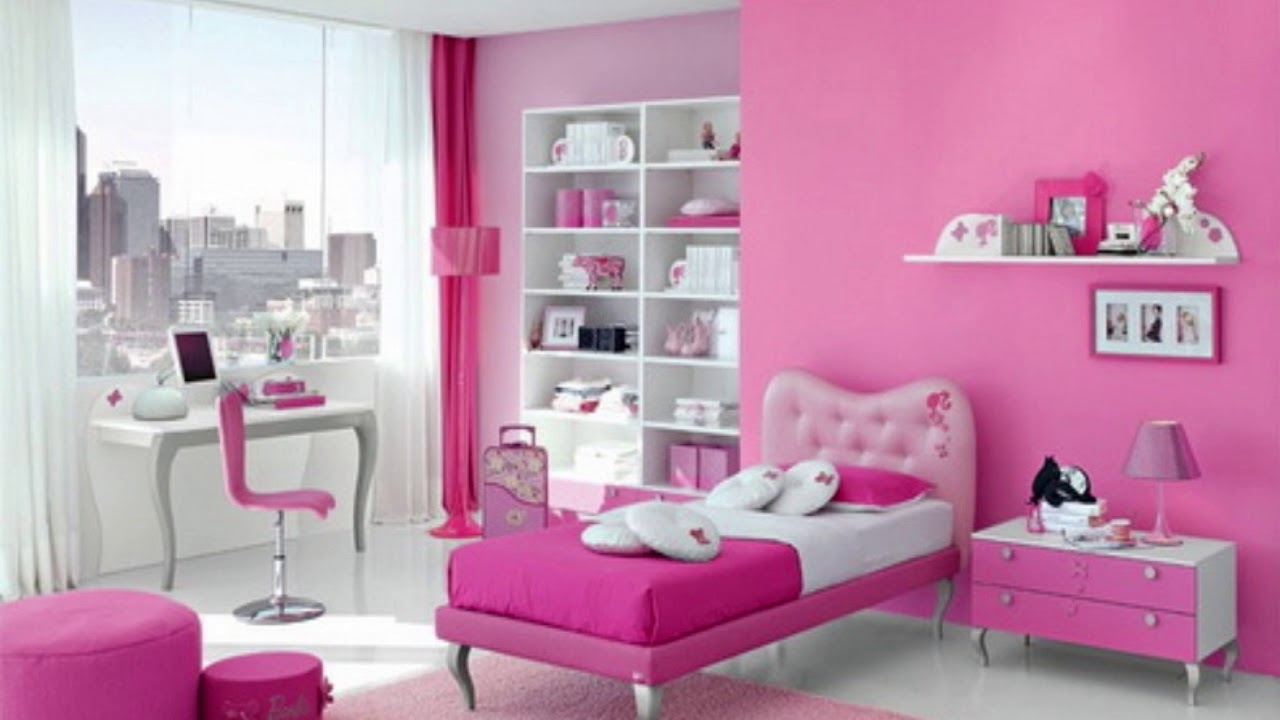 Inspirasi Desain Kamar Warna Pink 6 Youtube