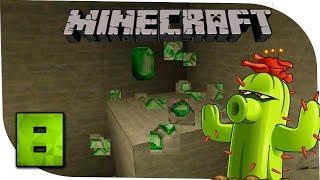 Minecraft С модами 8 Изумруды и меч из кактусов