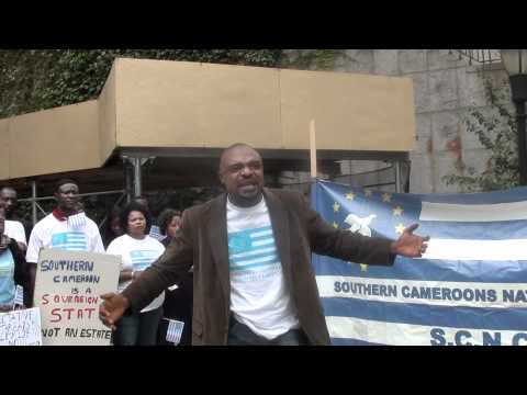 SCNC 50TH ANNIVERSARY DEMONSTRATION NYC PART 7 Chairman of SCNC NA Chapter