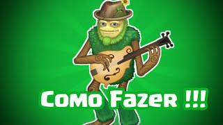Como fazer o Açúcar Bush !!! | My Singing Monsters