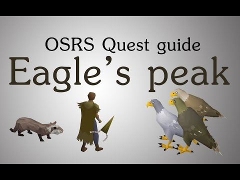 [OSRS] Eagle's peak quest guide