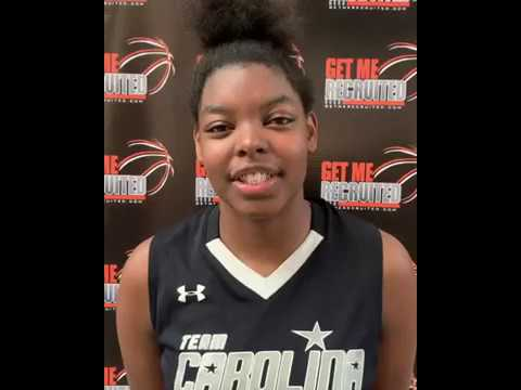 Khalis Cain (Carolina All-Stars/Mt. Zion Christian Academy/Durham, NC) 2020 6'3 PF/C