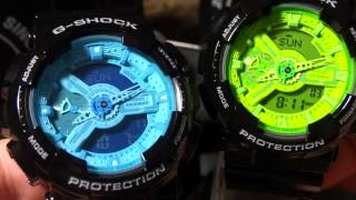 CASIO G-SHOCK REVIEW AND UNBOXING HYPER COLOR PICK UP