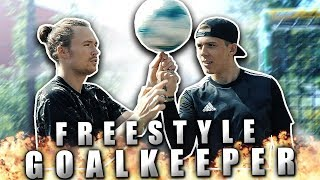Youtube torwart lernt freestylen