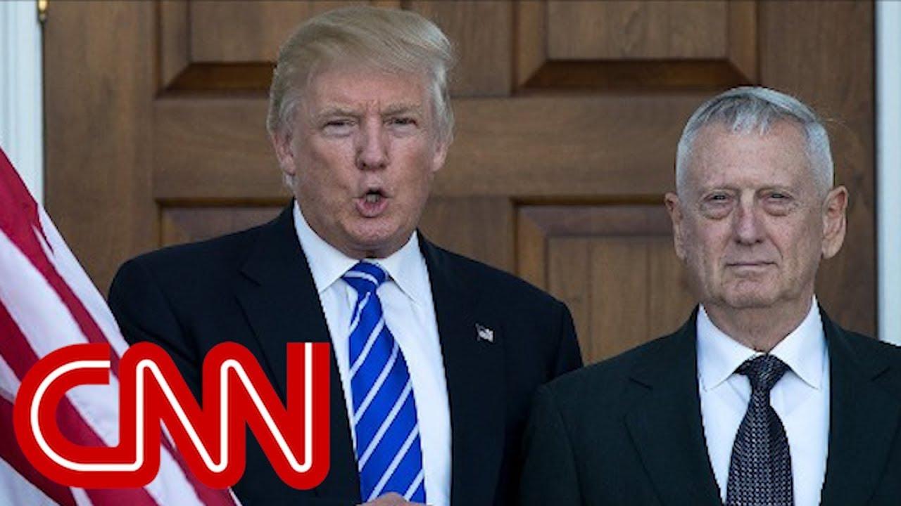 Trump: James Mattis is 'sort of a Democrat'