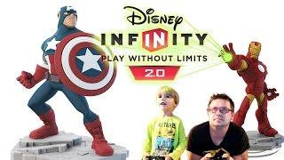 Disney Infinity 2.0 MARVEL: Avengers Game Play 1