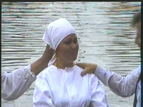 Mission Work in Russia- Russian Baptism - YouTube