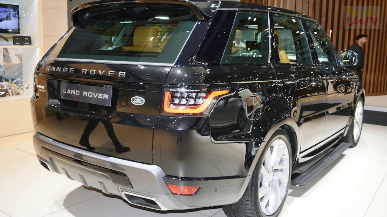 2018 range rover sport facelift 2017 dubai motor show youtube. Black Bedroom Furniture Sets. Home Design Ideas