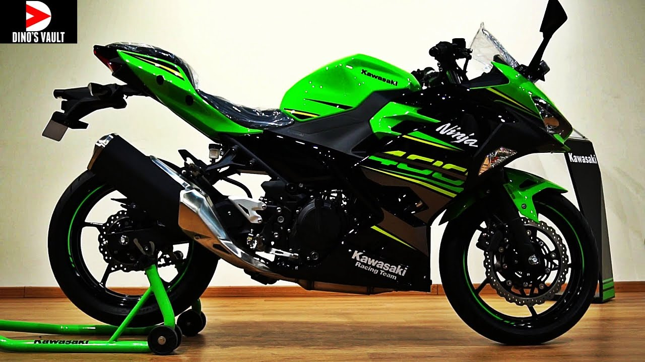 kawasaki ninja 400 krt edition unboxing walkaround review. Black Bedroom Furniture Sets. Home Design Ideas