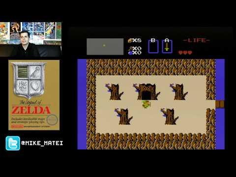 The Legend of Zelda (NES) Levels 1-8 -Cinemassacre Plays