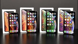 Download Apple iPhone XS vs XS Max: Unboxing & Review (All Colors) Mp3 and Videos