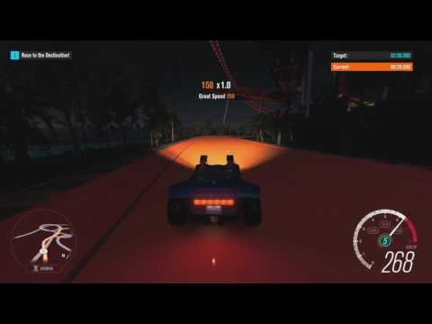 Forza Horizon 3 - Hot Wheels Bucket List Event #3 in 0:52 (with custom route)