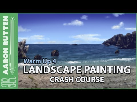 Ocean & Beach Observations – Landscape Painting Crash Course (Warm Up 4)