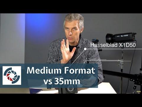 Medium Format vs 35mm - High Resolution Shootout - Part 1