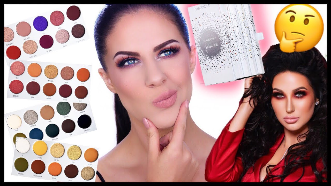 JACLYN HILL X MORPHE VAULT COLLECTION | SWATCHES, DEMO ...