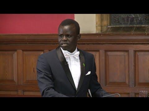 Garang Dut | We Should Embrace a Closer African Union (1/6) | Oxford Union