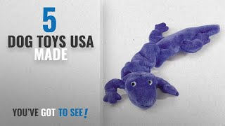 """Top 5 Dog Toys Usa Made [2018 Best Sellers]: Zanies Bungies Gecko Dog Toys, Purple, 16""""–24"""""""