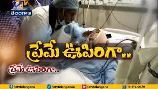 Madhavi Health Condition Still Critical | Its a Caste Heart Attack | Husband in Hyderabad