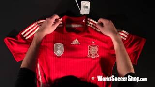 adidas Spain 2014 Home Soccer Jersey - Unboxing