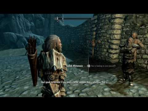 Gamerwolf Skyrim adventure: becoming a werewolf, btw aela's a Hippocrate!!!