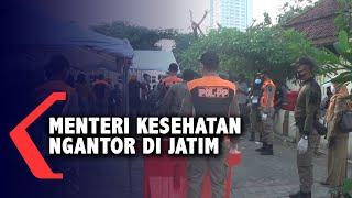 Kasus Covid-19 di Jatim Tinggi, Menteri Kesehatan Berkantor di Surabaya