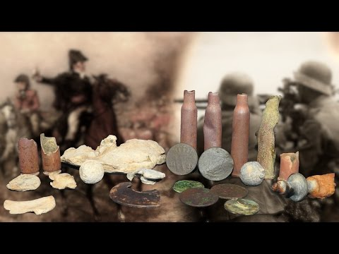 Metal Detecting on a Field - WW2 and older - Old coins 1800 / 1700s - History Secrets