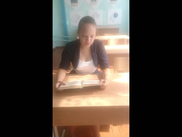 Изображение предпросмотра прочтения – ЛуизаТухбетова читает произведение «Сказка» И.А.Бунина