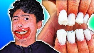 Things You Can Do With Your FINGERNAILS! (Nail Art Hacker)