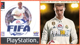 History Trailers From FIFA 2001 TO FIFA 2018