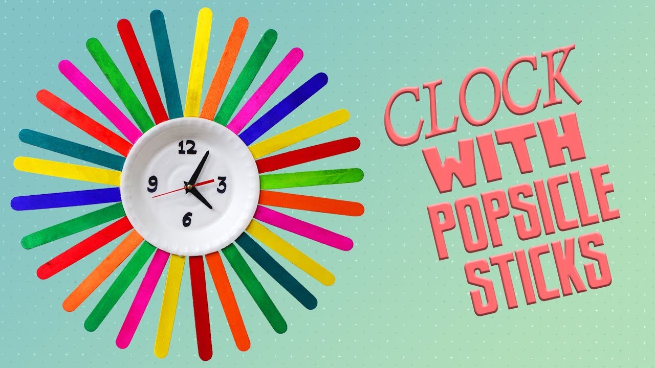 How To Make A Wall Clock For Kids
