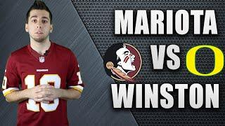 Marcus Mariota and Jameis Winston - Path To The Draft