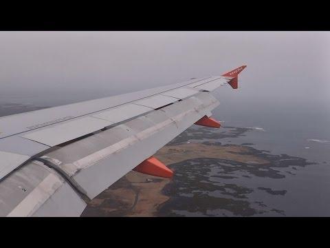 Easyjet A319 • London-Luton to Reykjavik-Keflavik • EZY2295