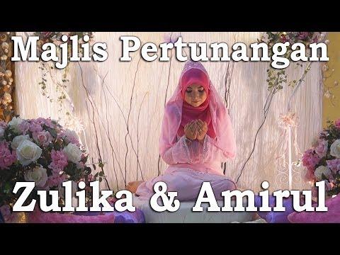 Majlis Pertunangan: Zulika & Amirul