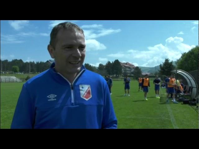 ФК Војводина: Немања Кртолица о припремама на Златибору