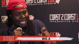 Big A Performs at Direct 2 Exec Denver 4/20/18 -  Warner Music Group