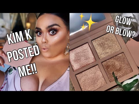KKW BEAUTY HIGHLIGHTER PALETTES REVIEW!!♡♡  GABRIELLAGLAMOUR