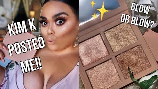 KKW BEAUTY HIGHLIGHTER PALETTES REVIEW!!♡♡ |GABRIELLAGLAMOUR