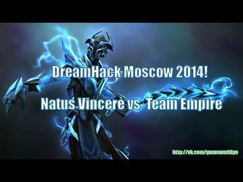 DreamHack Moscow 2014!!! Natus Vincere против  Team Empire!!