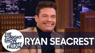 Ryan Seacrest Explains That Chair Tumble He Took During Live with Kelly and Ryan