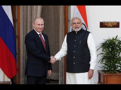Russia & India sign deals on nuclear power, energy, defence