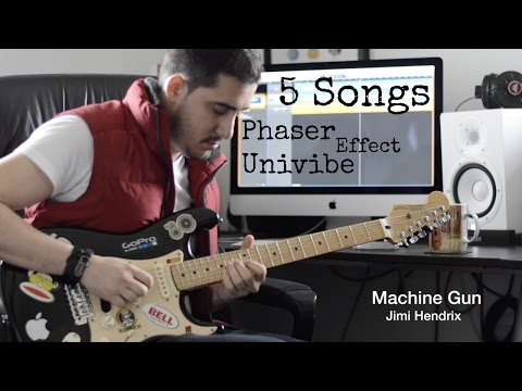 5 Songs with the Phaser - Univibe Effect (Fractal AX8)