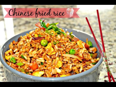 ★Chinese Fried Rice Recipe ★ How to Make Fried Rice ★ EGG- Vegetable Fried Rice ★