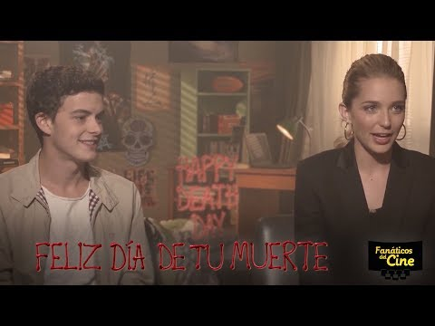 Jessica Rothe e Israel Broussard: Feliz Día de tu Muerte es una película de terror diferente