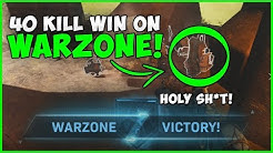 INSANE 40 Kill Warzone Win Gameplay! Call Of Duty Warzone Gameplay!