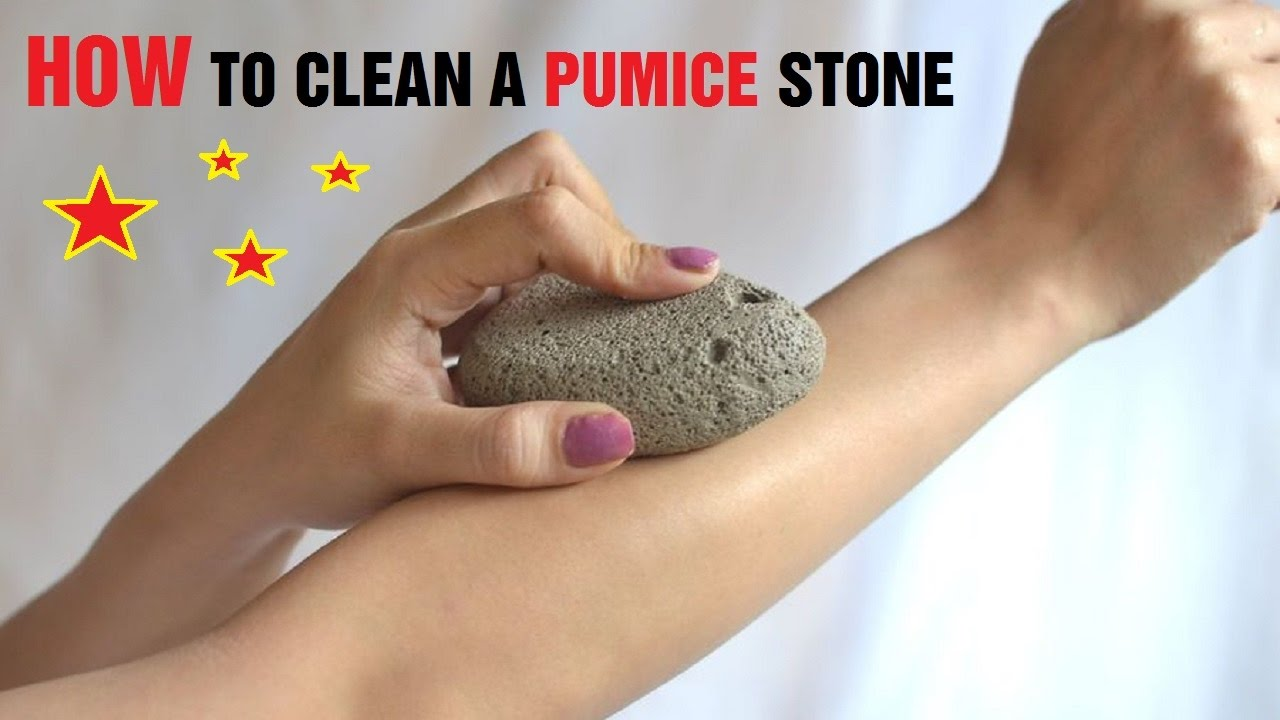 how to clean a pumice stone youtube. Black Bedroom Furniture Sets. Home Design Ideas
