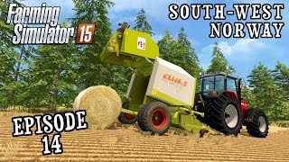 Let's Play Farming Simulator 2015 | South West Norway | Episode 14