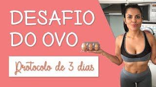 Desafio do ovo   Seque a barriga em 3 dias   Vlog   Você Mais Fitness