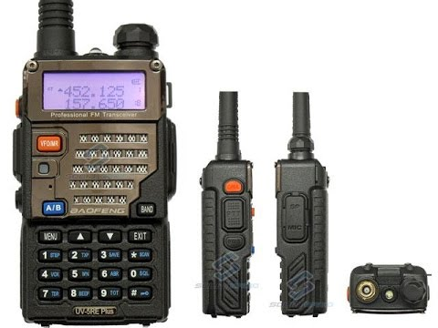 Bon plan N° 2, Radio BAOFENG UV-5RE Plus, Français