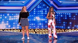 The X Factor UK 2018 Sing-off For The Last Girls Chair Six Chair Challenge Full Clip S15E10
