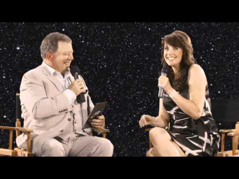 William Shatner s Amanda Tapping